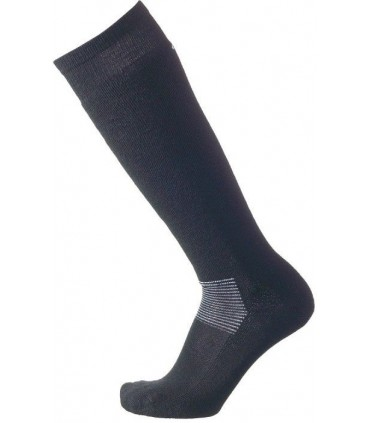 Skiing knee high wool socks