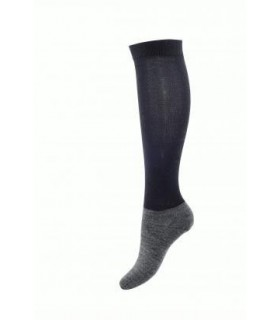 Riding wool and fine leg foot socks