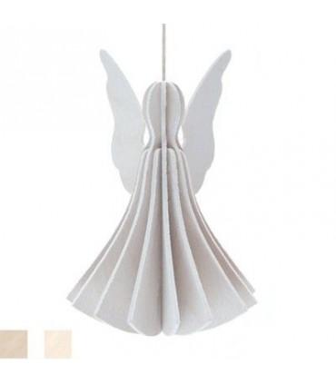 Ange blanc en bois LOVI cadeaux à envoyer par la poste
