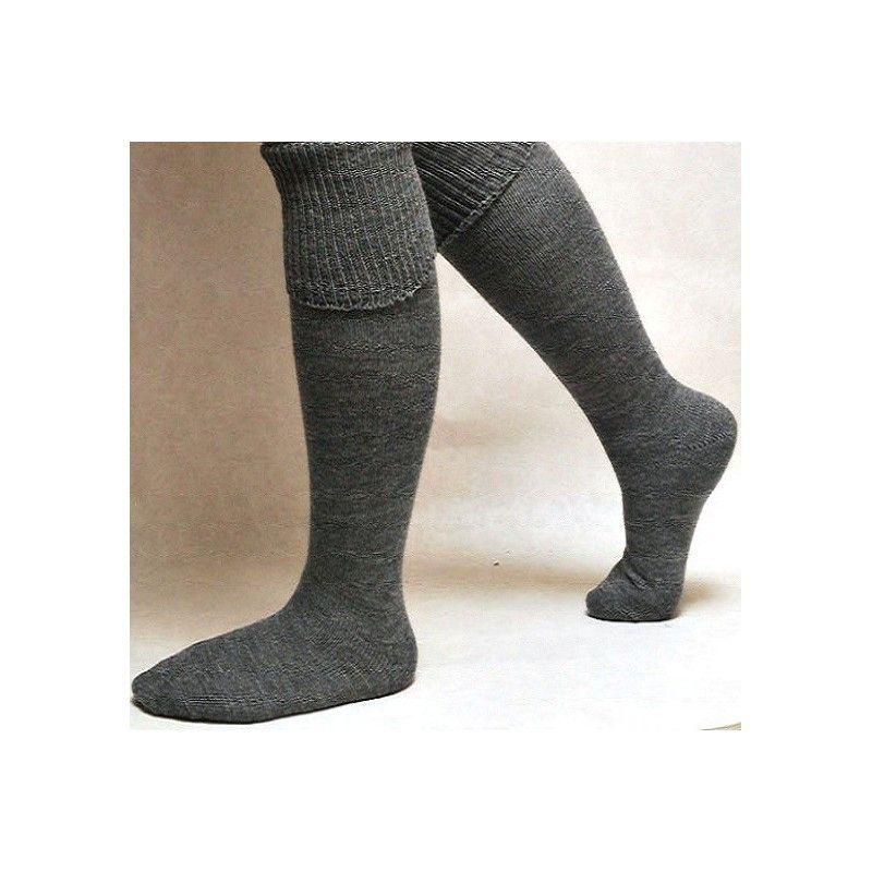 chaussettes hautes homme 100 laine confort assur. Black Bedroom Furniture Sets. Home Design Ideas