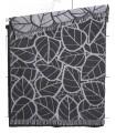 Plaids design noir & gris, rouges en pure laine mérinos
