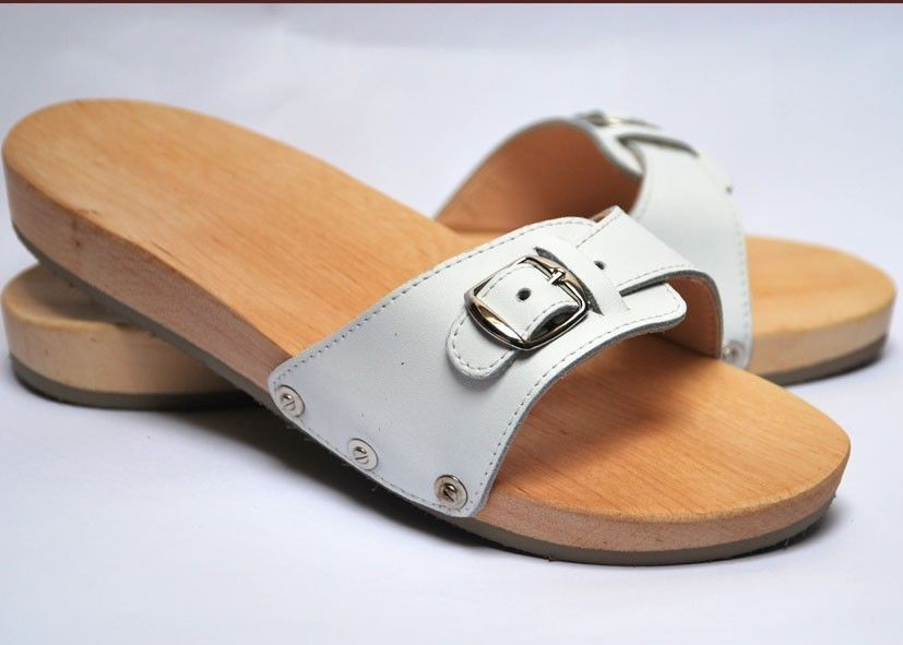 e15a998bd Sandals Maple wood and leather