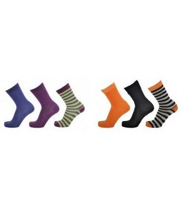 Very fine wool men's fancy socks