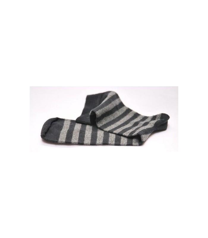 Lot de chaussettes coton rayées homme 4+ 2 gratuites
