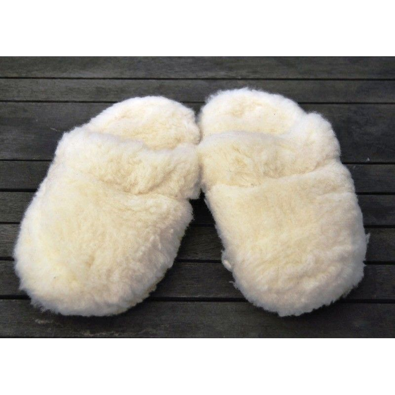 956ecd1247fe4 Chaussons ultra chauds et doux en laine 100% - thermotherapie