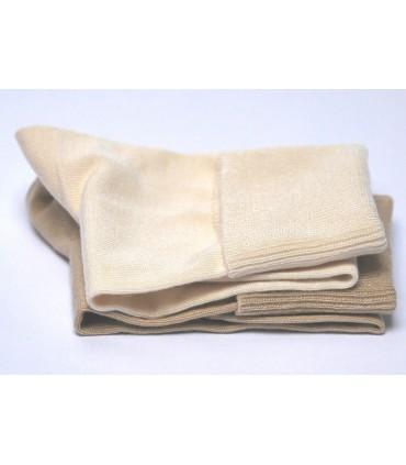 Chaussettes non comprimantes femme bambou antibactérien