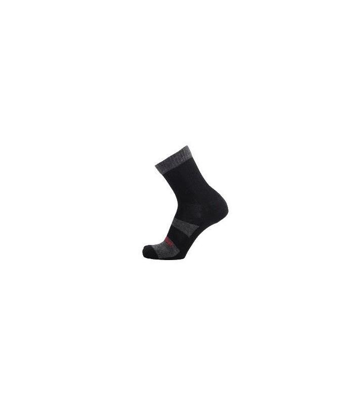Socks hiking outlast and wool grey and black loop