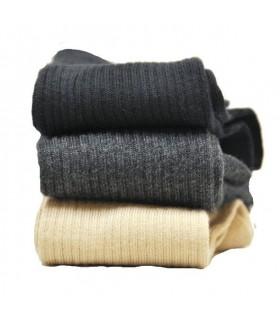 Chaussettes hommes coton non comprimantes