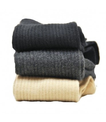 Chaussettes homme coton non comprimantes fines