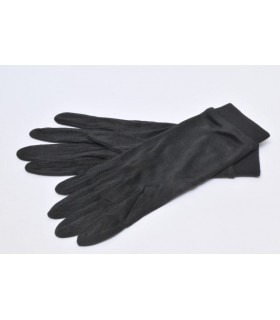 Under Gloves pure silk black