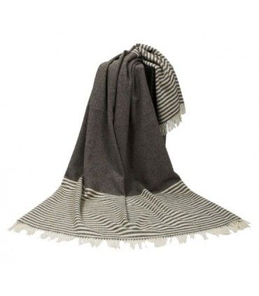 Extra large throws pure new Scandinavian wool 220 x 260 cm