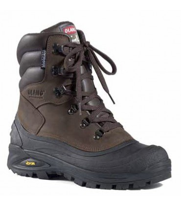 Men's snow boot hydro repellent natural York leather upper