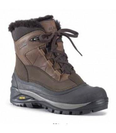 Chaussures montantes hiver après-ski cuir hydro pour homme Olang