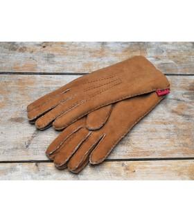 gants luxueux moka