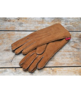 Lambskin leather Aviator Gloves