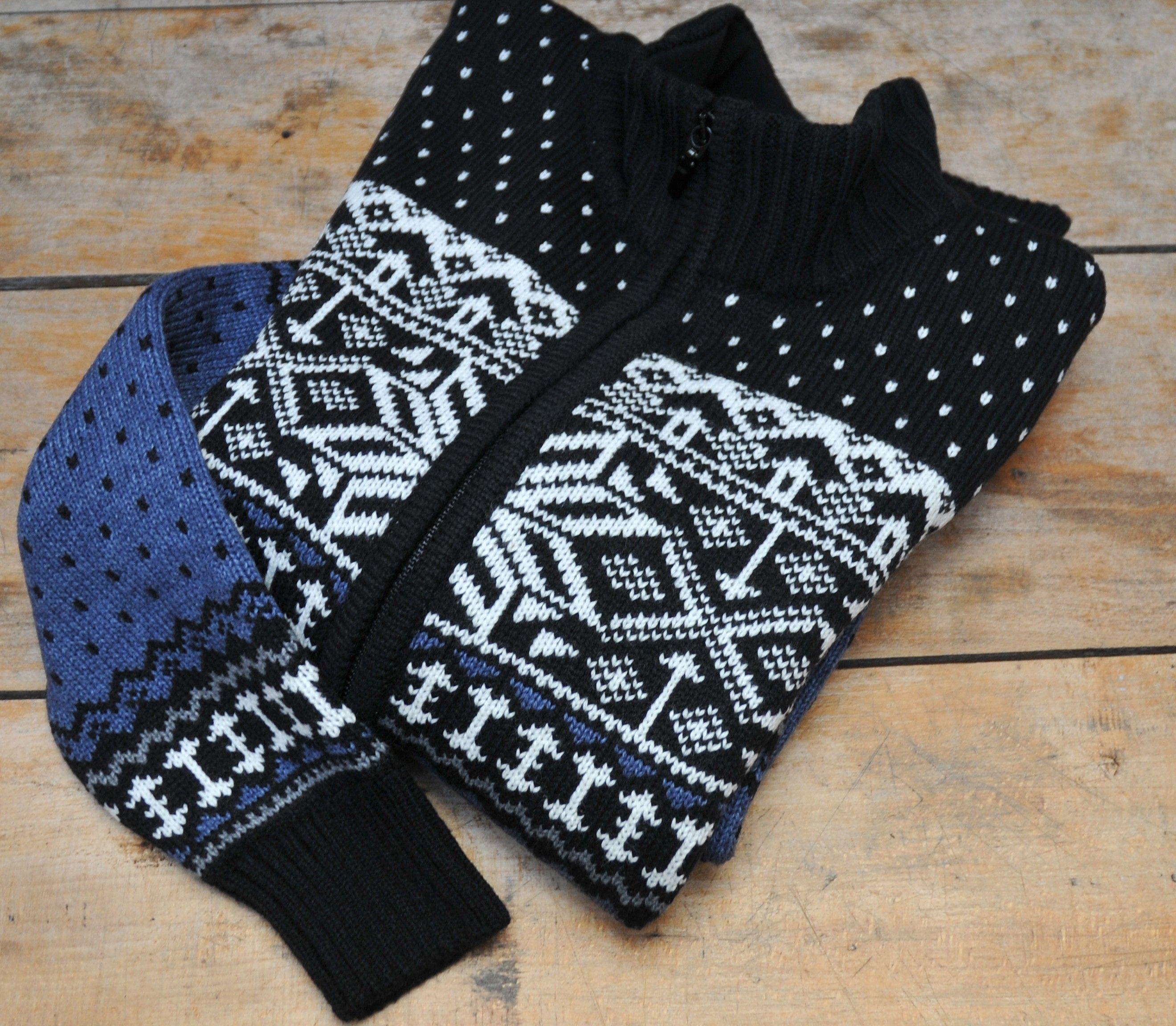 eb7685c4b48c6 Jerseys jaquards nórdico pura lana - chaquetas y capas de lana ...