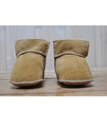 Echtes Lammfell warme Baby Hausschuhe Stiefel