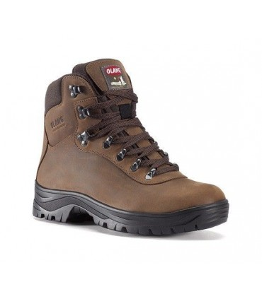 Trekking Shoes hydro repellent natural York leather upper Olang