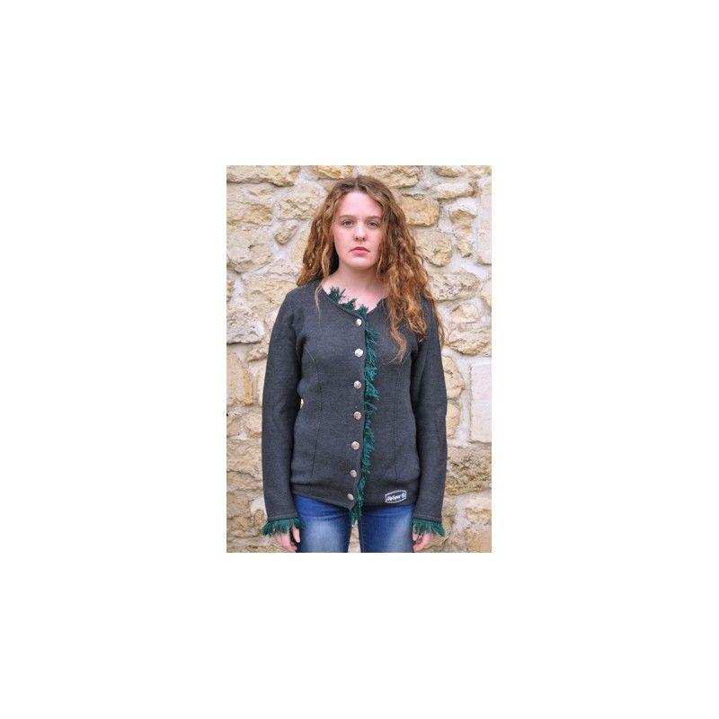 acheter pas cher 40e81 1b581 Gilet nordique à boutons laine fabriqués en europe du Nord