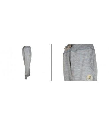 pantalones de chándal de pura lana merino para mujer