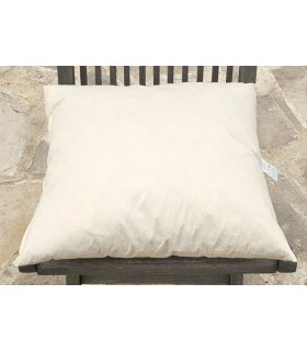 Pure cotton cushion filled with feathers and duck down