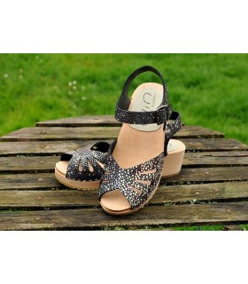 Swedish wooden Sandals Ylin for woman
