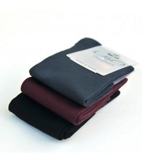 Chaussettes fil d'écosse homme gris bordeaux noir