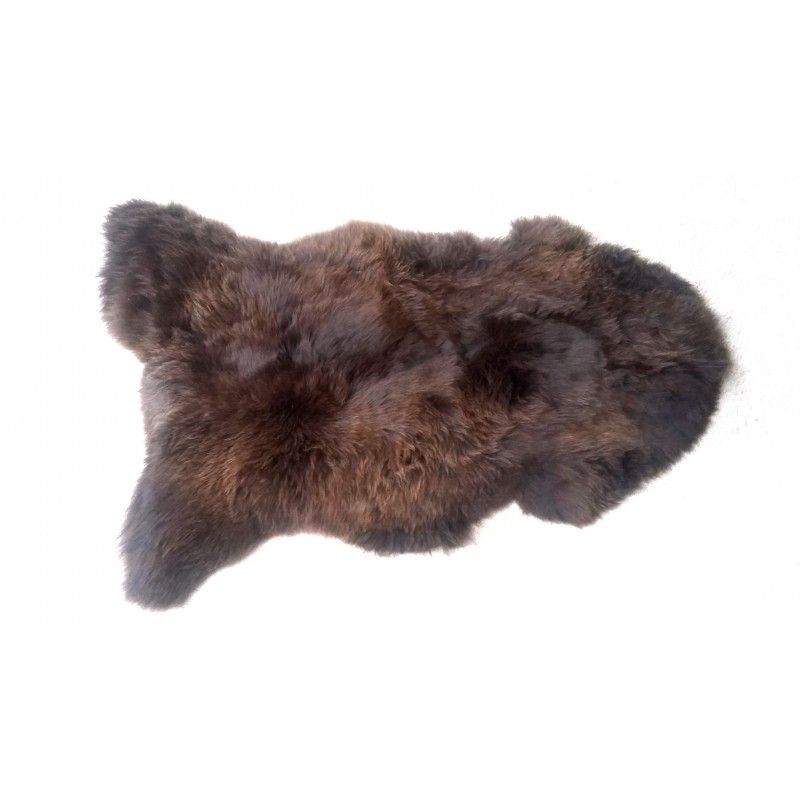 Grande pieles de oveja marron de decoraci n esprit nordique - Pieles de oveja ...
