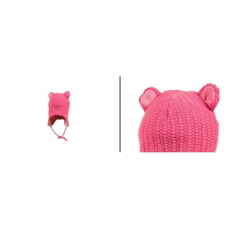 eedaeb08c942 Bonnet bébé laine mérinos rose ou bleu - Esprit Nordique