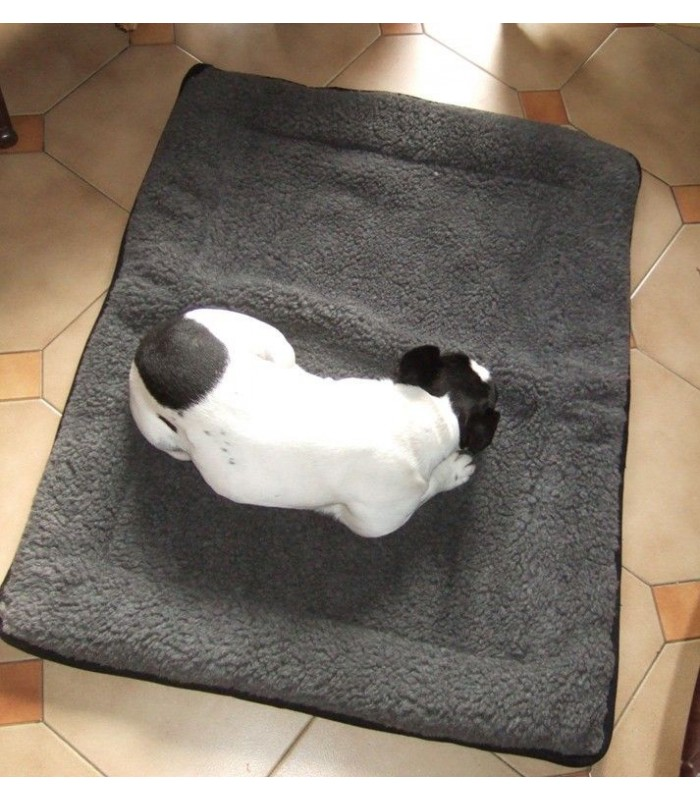 Dog cushion mat 100% wool