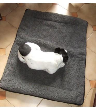 Grand Tapis coussin pour grand chien pure laine