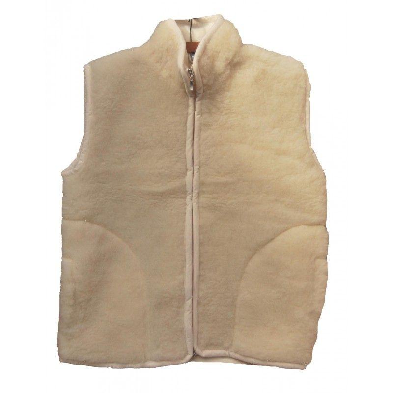 dd1c4974aa31fb ärmelloses Jacke reiner Wolle männer oder damen- ideale Thermotherapie