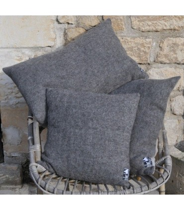 Nordic Cushion pure wool und linen