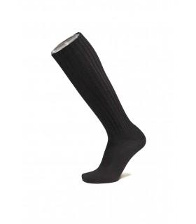 Los hombres de calcetines 100% lana de rodillas bien alto