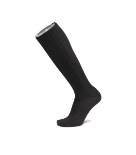 Men's socks fine high knees 100% wool