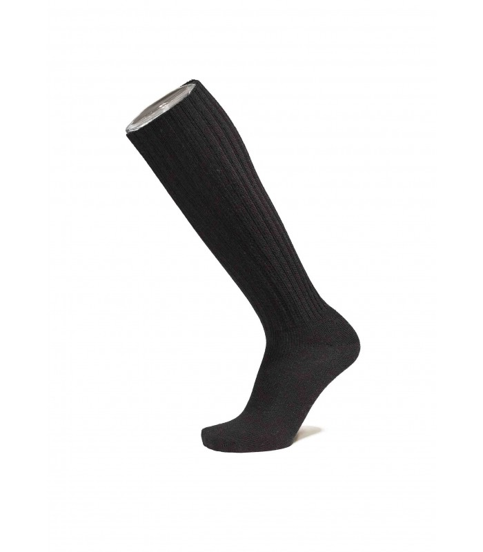 Men's socks fine high knees 100% wool