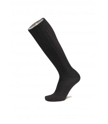 Damen Socken feine hohe Knie karmgarn Wolle