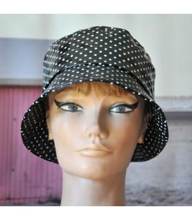 Chapeau de pluie Femme Bob imperméable aspect ciré