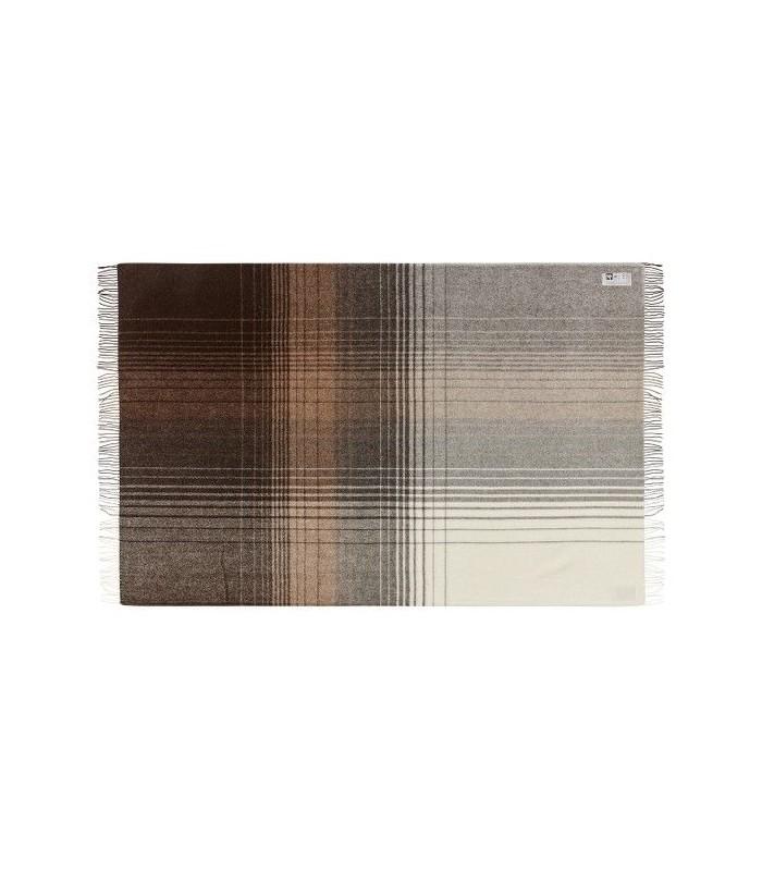 plaids gris et cru en laine m rinos et alpaga fabriqu en scandinavie. Black Bedroom Furniture Sets. Home Design Ideas