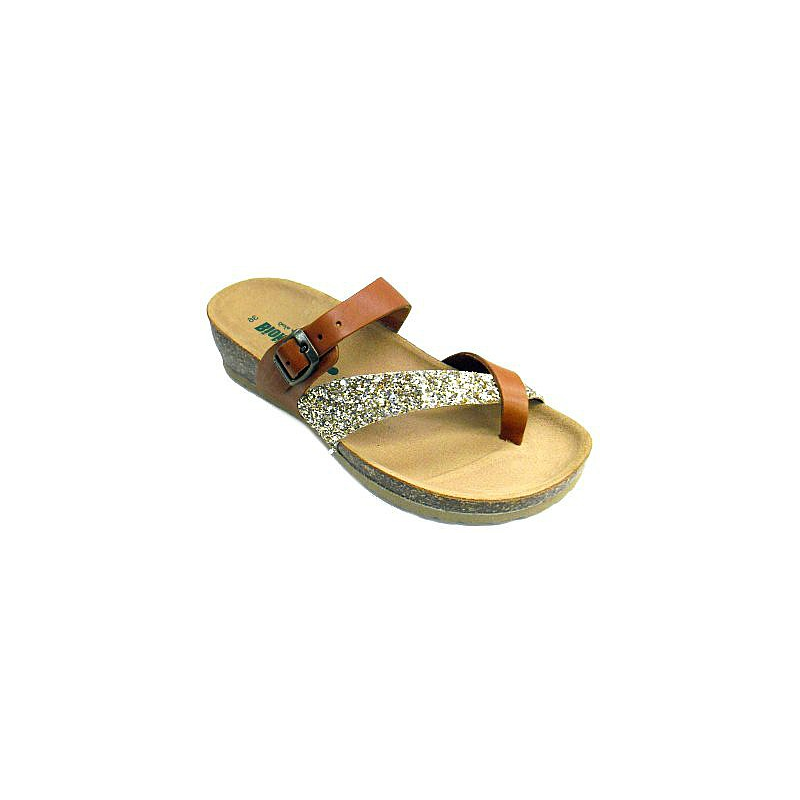 Bionatura thong sandals with glitter 39 VnCK9N6