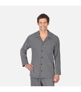 Pyjama homme pur coton super peigné jersey bleu marine