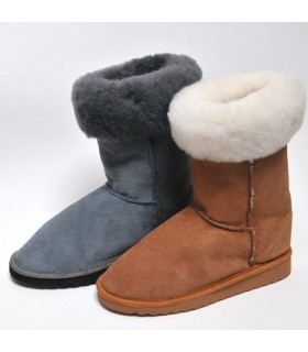 Women's boots in guenuine lambskin