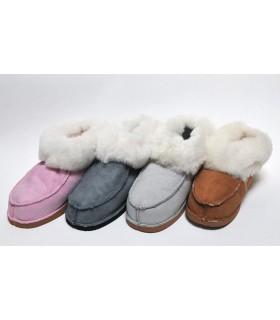 Zapatos de piel de cordero genuino