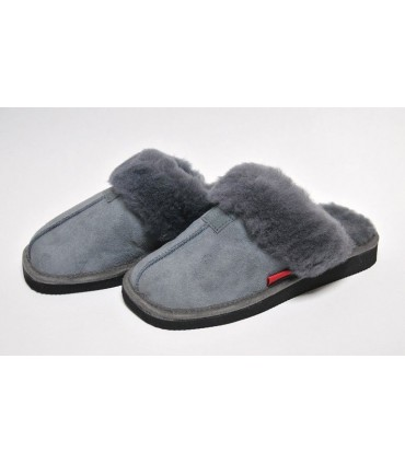 Women's nordic slippers in guenuine lambskin