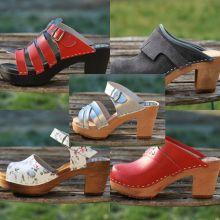 Chaussures sabots sandales à 40 euros