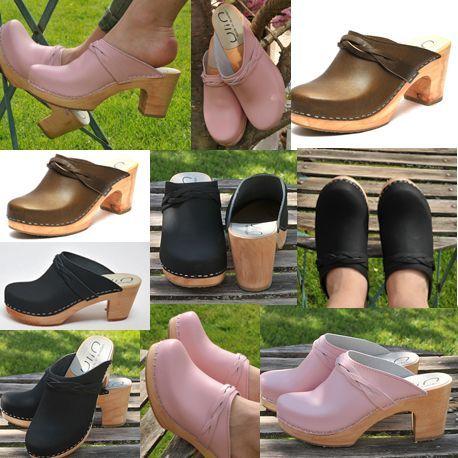 Zuecos de Suecia madera mujer zapatos ec123d649b0