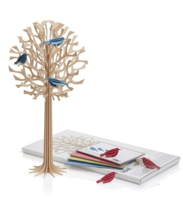 Birch wood Lovi finnish decoration tree