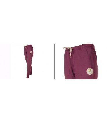 Pantalon pure laine mérinos femme de Jogging sport gris ou purple