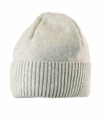 Bonnet en laine fines côtes homme ou femme à revers