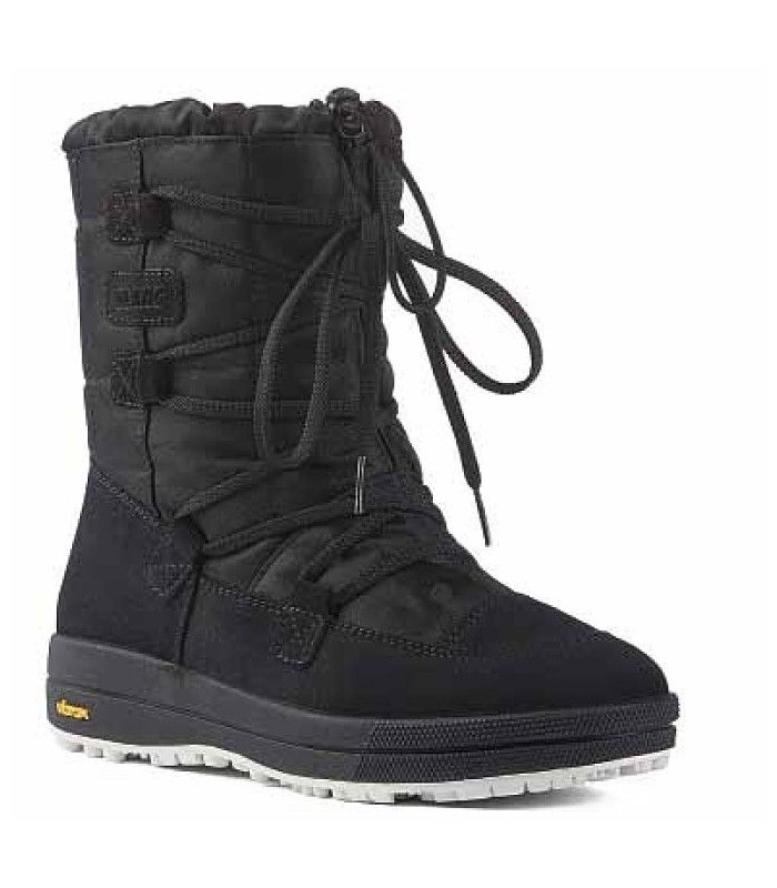Women's snow boot hydro repellent natural York leather upper